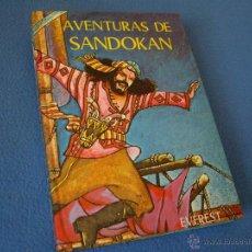 Libros de segunda mano: AVENTURAS DE SANDOKAN - EVEREST 1976 -. Lote 38638125
