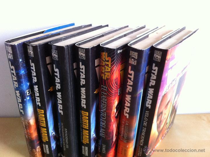 Libros de segunda mano: STAR WARS. ALBERTO SANTOS EDITOR. 7 TOMOS. JAMES LUCENO, ALAN DEAN FOSTER, MICHAEL REAVES... - Foto 2 - 43421318