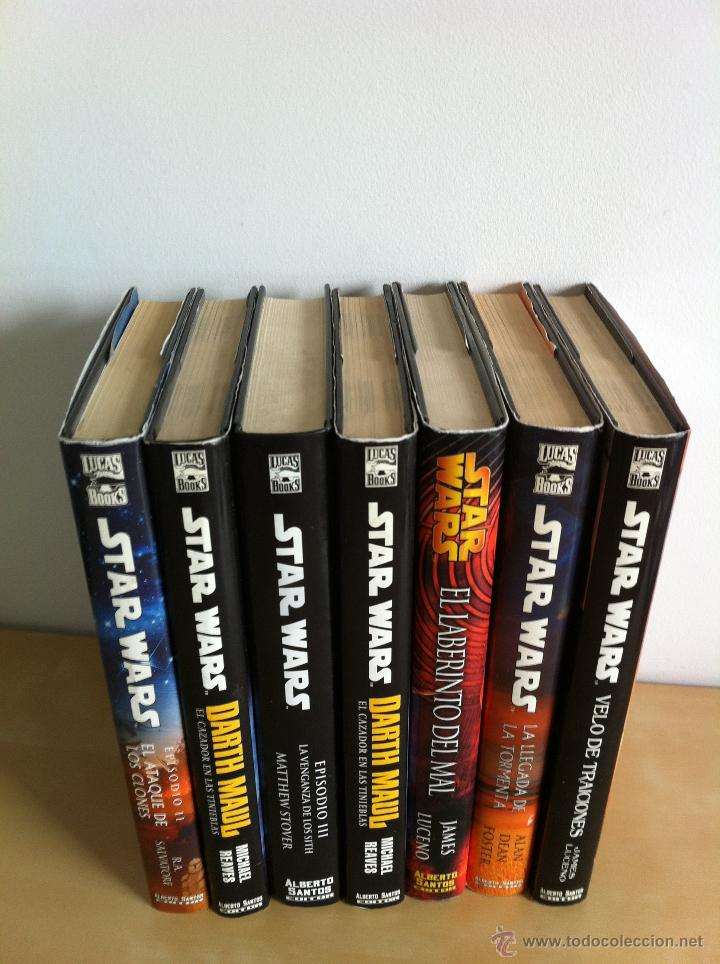 Libros de segunda mano: STAR WARS. ALBERTO SANTOS EDITOR. 7 TOMOS. JAMES LUCENO, ALAN DEAN FOSTER, MICHAEL REAVES... - Foto 4 - 43421318