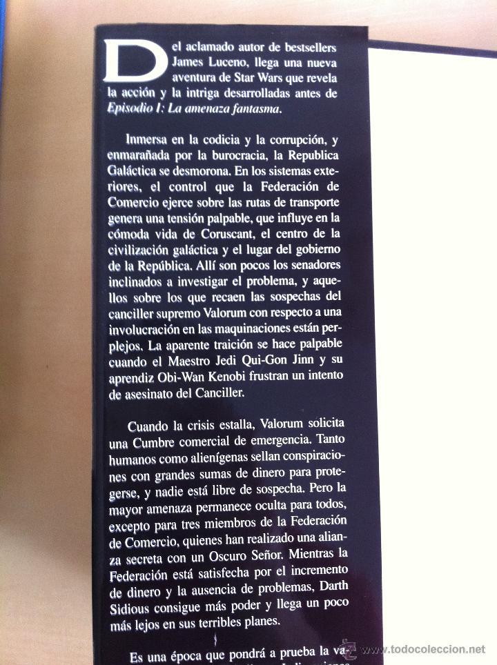 Libros de segunda mano: STAR WARS. ALBERTO SANTOS EDITOR. 7 TOMOS. JAMES LUCENO, ALAN DEAN FOSTER, MICHAEL REAVES... - Foto 8 - 43421318
