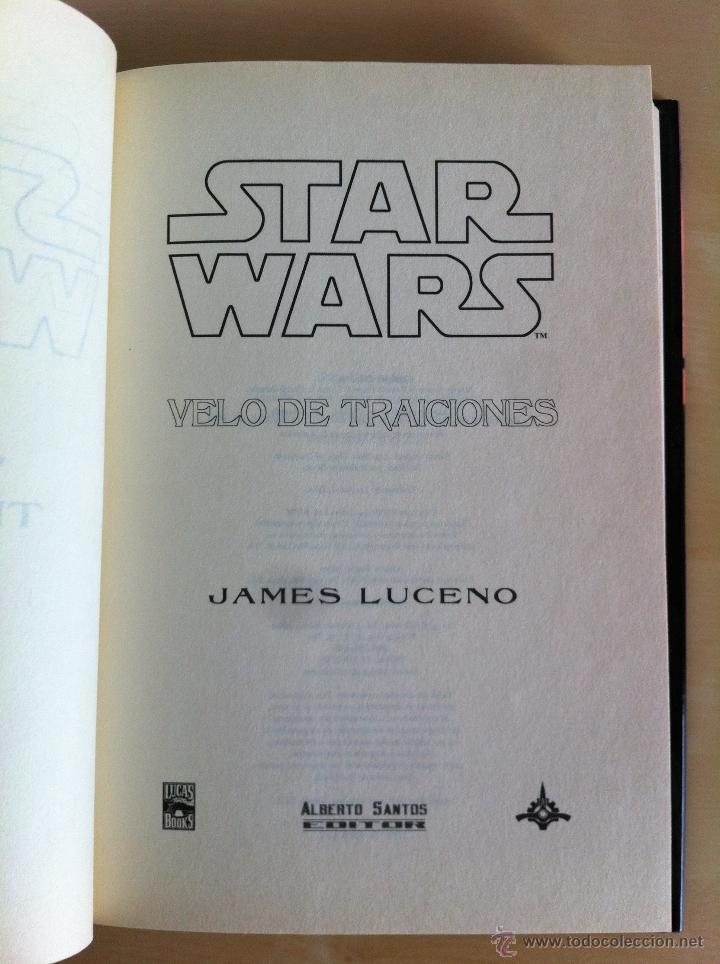 Libros de segunda mano: STAR WARS. ALBERTO SANTOS EDITOR. 7 TOMOS. JAMES LUCENO, ALAN DEAN FOSTER, MICHAEL REAVES... - Foto 9 - 43421318