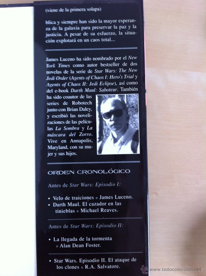 Libros de segunda mano: STAR WARS. ALBERTO SANTOS EDITOR. 7 TOMOS. JAMES LUCENO, ALAN DEAN FOSTER, MICHAEL REAVES... - Foto 10 - 43421318