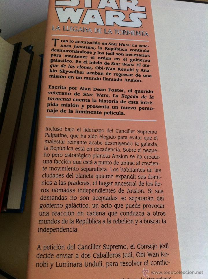 Libros de segunda mano: STAR WARS. ALBERTO SANTOS EDITOR. 7 TOMOS. JAMES LUCENO, ALAN DEAN FOSTER, MICHAEL REAVES... - Foto 14 - 43421318