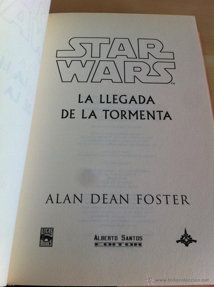 Libros de segunda mano: STAR WARS. ALBERTO SANTOS EDITOR. 7 TOMOS. JAMES LUCENO, ALAN DEAN FOSTER, MICHAEL REAVES... - Foto 15 - 43421318