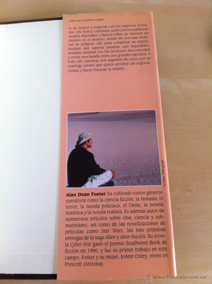 Libros de segunda mano: STAR WARS. ALBERTO SANTOS EDITOR. 7 TOMOS. JAMES LUCENO, ALAN DEAN FOSTER, MICHAEL REAVES... - Foto 16 - 43421318