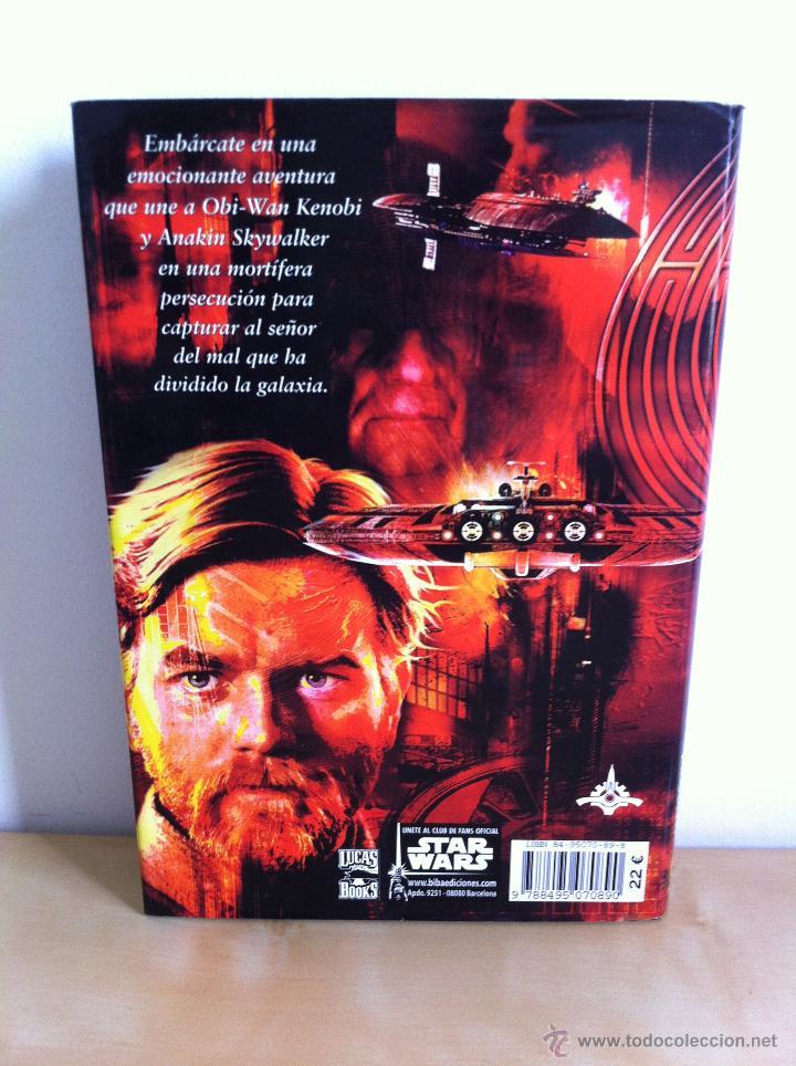 Libros de segunda mano: STAR WARS. ALBERTO SANTOS EDITOR. 7 TOMOS. JAMES LUCENO, ALAN DEAN FOSTER, MICHAEL REAVES... - Foto 18 - 43421318
