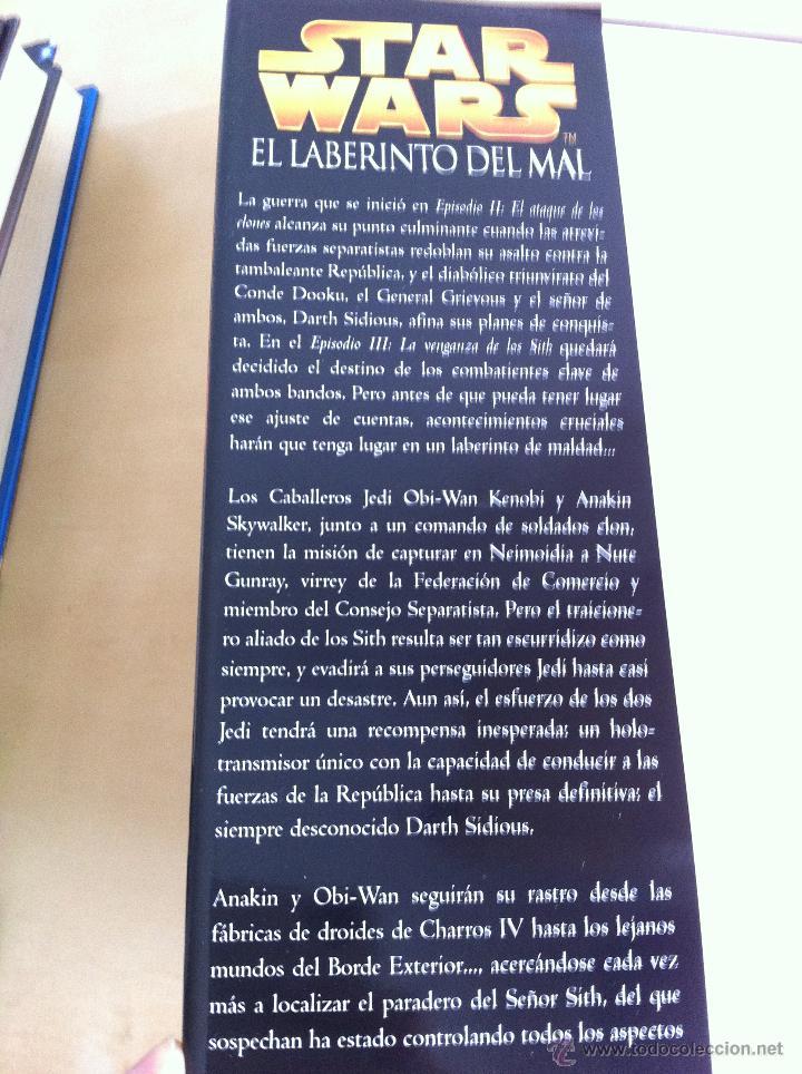 Libros de segunda mano: STAR WARS. ALBERTO SANTOS EDITOR. 7 TOMOS. JAMES LUCENO, ALAN DEAN FOSTER, MICHAEL REAVES... - Foto 20 - 43421318