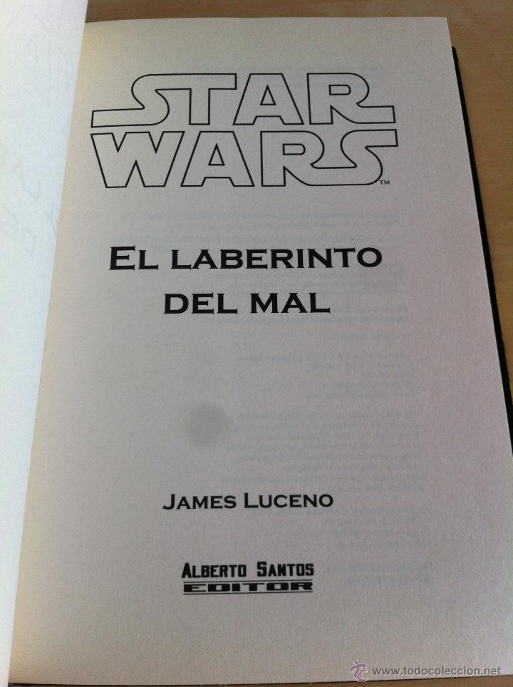 Libros de segunda mano: STAR WARS. ALBERTO SANTOS EDITOR. 7 TOMOS. JAMES LUCENO, ALAN DEAN FOSTER, MICHAEL REAVES... - Foto 21 - 43421318