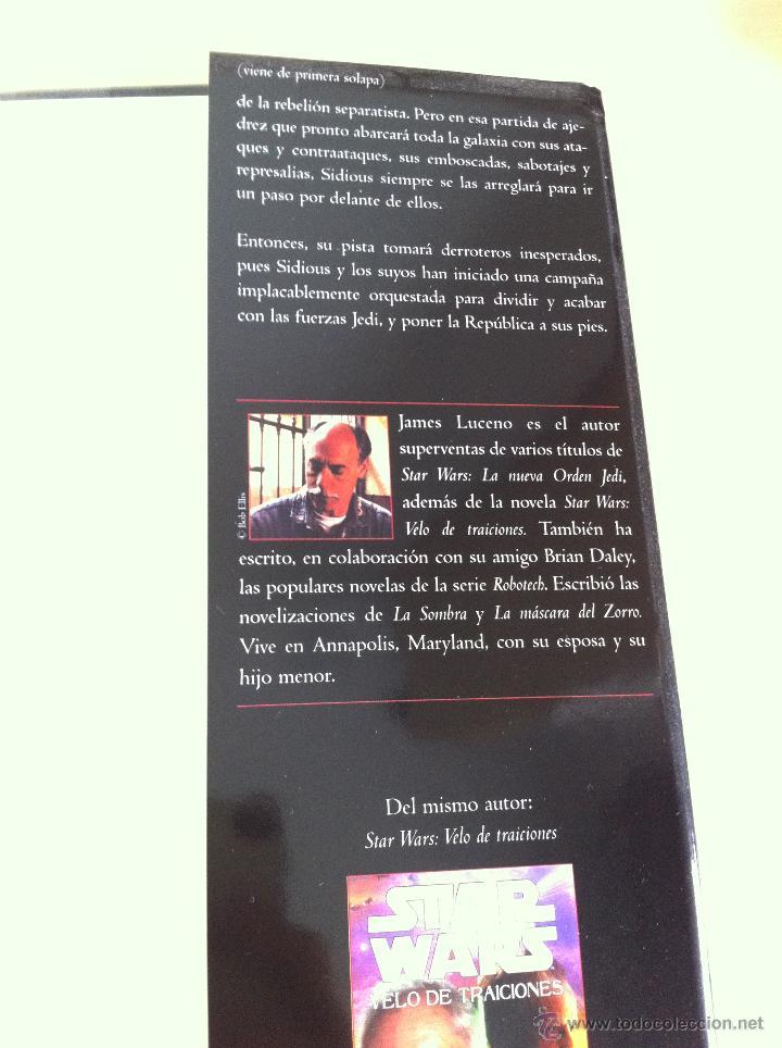 Libros de segunda mano: STAR WARS. ALBERTO SANTOS EDITOR. 7 TOMOS. JAMES LUCENO, ALAN DEAN FOSTER, MICHAEL REAVES... - Foto 22 - 43421318