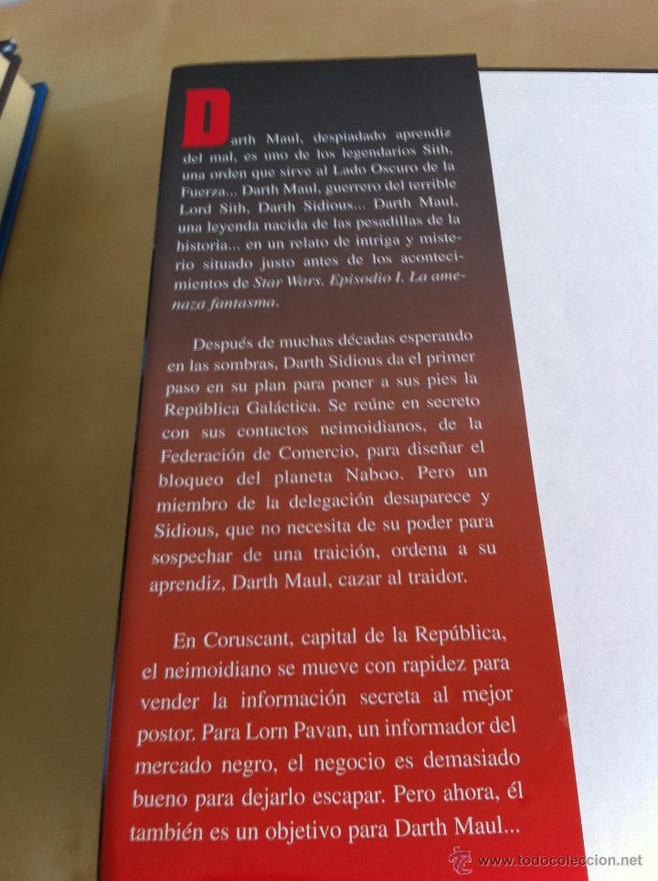 Libros de segunda mano: STAR WARS. ALBERTO SANTOS EDITOR. 7 TOMOS. JAMES LUCENO, ALAN DEAN FOSTER, MICHAEL REAVES... - Foto 26 - 43421318