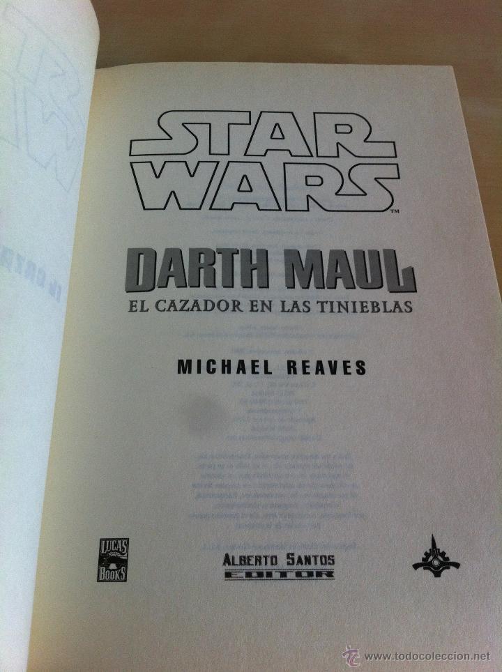 Libros de segunda mano: STAR WARS. ALBERTO SANTOS EDITOR. 7 TOMOS. JAMES LUCENO, ALAN DEAN FOSTER, MICHAEL REAVES... - Foto 27 - 43421318