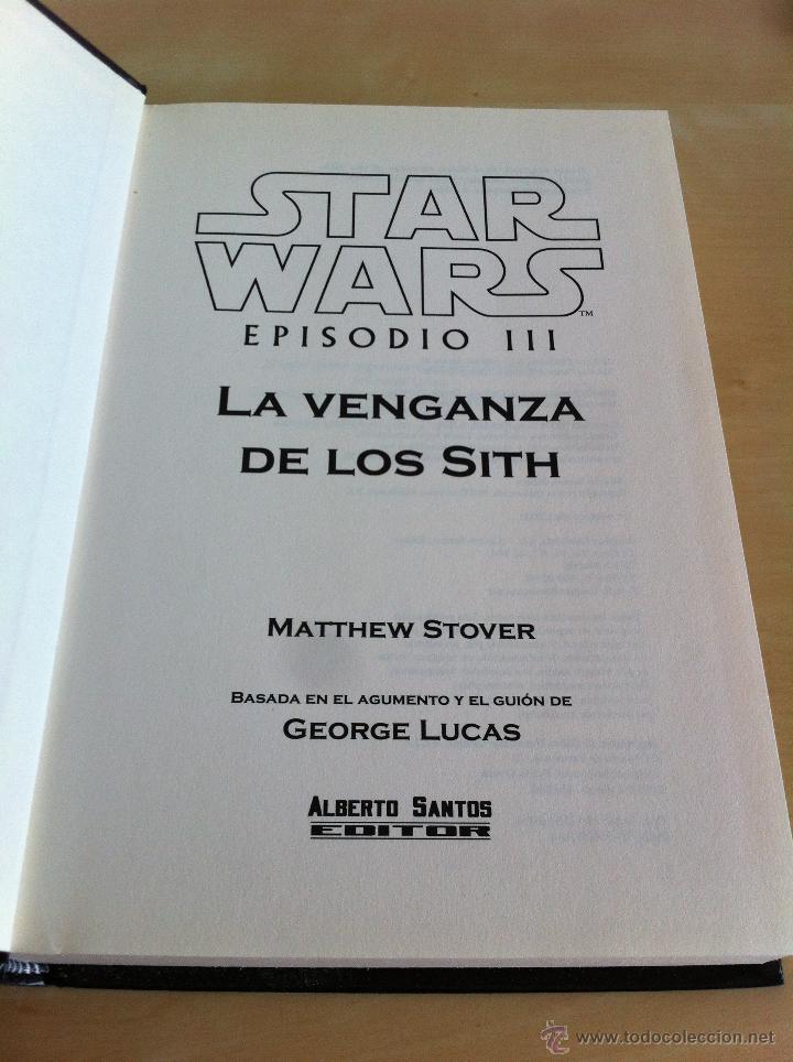 Libros de segunda mano: STAR WARS. ALBERTO SANTOS EDITOR. 7 TOMOS. JAMES LUCENO, ALAN DEAN FOSTER, MICHAEL REAVES... - Foto 31 - 43421318