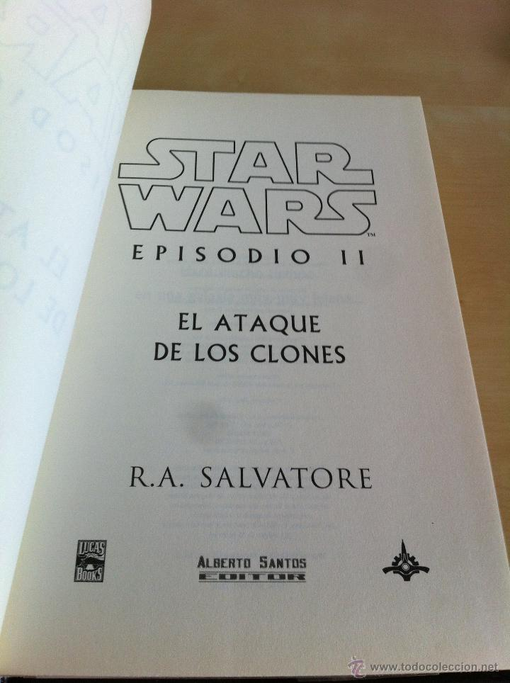 Libros de segunda mano: STAR WARS. ALBERTO SANTOS EDITOR. 7 TOMOS. JAMES LUCENO, ALAN DEAN FOSTER, MICHAEL REAVES... - Foto 37 - 43421318