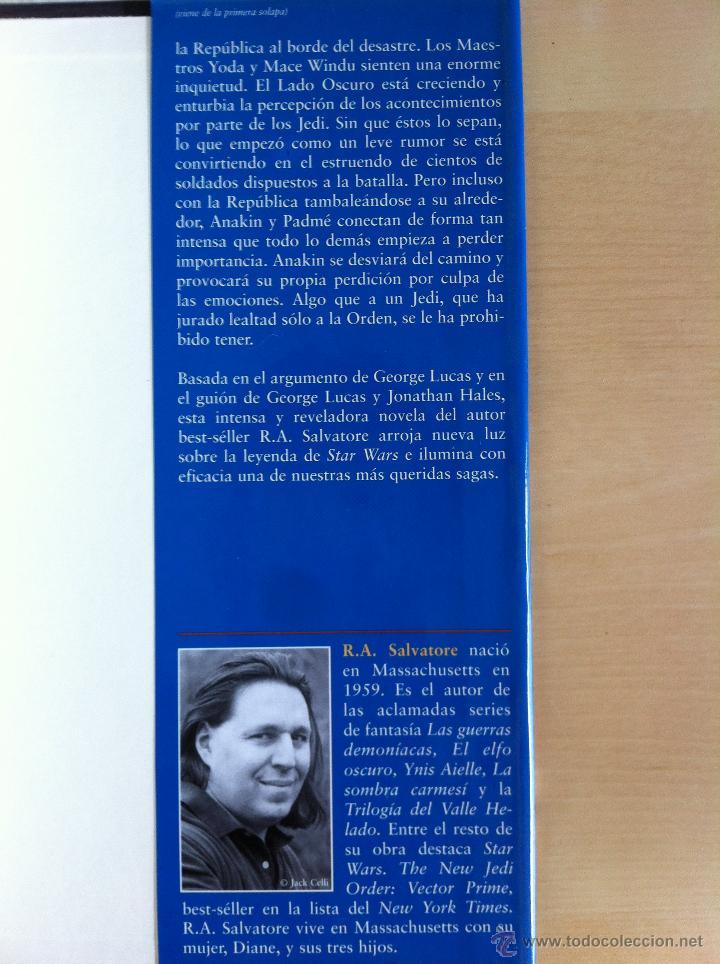 Libros de segunda mano: STAR WARS. ALBERTO SANTOS EDITOR. 7 TOMOS. JAMES LUCENO, ALAN DEAN FOSTER, MICHAEL REAVES... - Foto 38 - 43421318