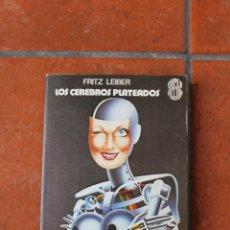 Libros de segunda mano: SUPER FICCION Nº 8: LOS CEREBROS PLATEADOS; FRITZ LEIBER; EDICIONES MARTINEZ ROCA. Lote 43576320