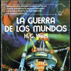 Libros de segunda mano: LA GUERRA DE LOS MUNDOS POR H. G. WELLS. Lote 43599109