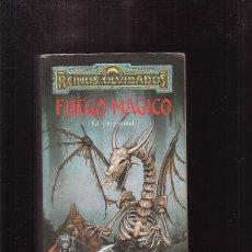 Libros de segunda mano: FUEGO MÁGICO / ED GREENWOOD ( TIMUN MAS REINOS OLVIDADOS ). Lote 43966301
