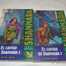 Libros de segunda mano: SHANNARA EL CANTAR DE SHANNARA 1-2. Lote 44142580