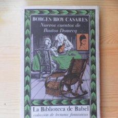 Libros de segunda mano: NUEVOS CUENTOS DE BUSTOS DOMEC. Lote 44287083