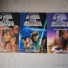 Libros de segunda mano: STAR WARS: TRILOGÍA DE LA FLOTA NEGRA. VOL. 1-2-3.MARTÍNEZ ROCA. KUBE-MC. DOWELL. Lote 44326766