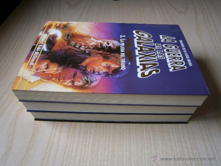 Libros de segunda mano: STAR WARS: TRILOGÍA DE LA FLOTA NEGRA. VOL. 1-2-3.MARTÍNEZ ROCA. KUBE-MC. DOWELL - Foto 2 - 44326766
