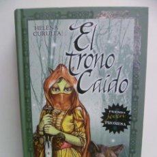 Libros de segunda mano: EL TRONO CAÍDO - HELENA CURULLA - 1ª EDICION 2008 . Lote 44428416