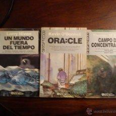 Libros de segunda mano: ORA:CLE -UN MUNDO FUERA DEL TIEMPO- DE CONCENTRACION/ TRES LIBROS ULTRAMAR CIENCIA FICCION. Lote 44862167