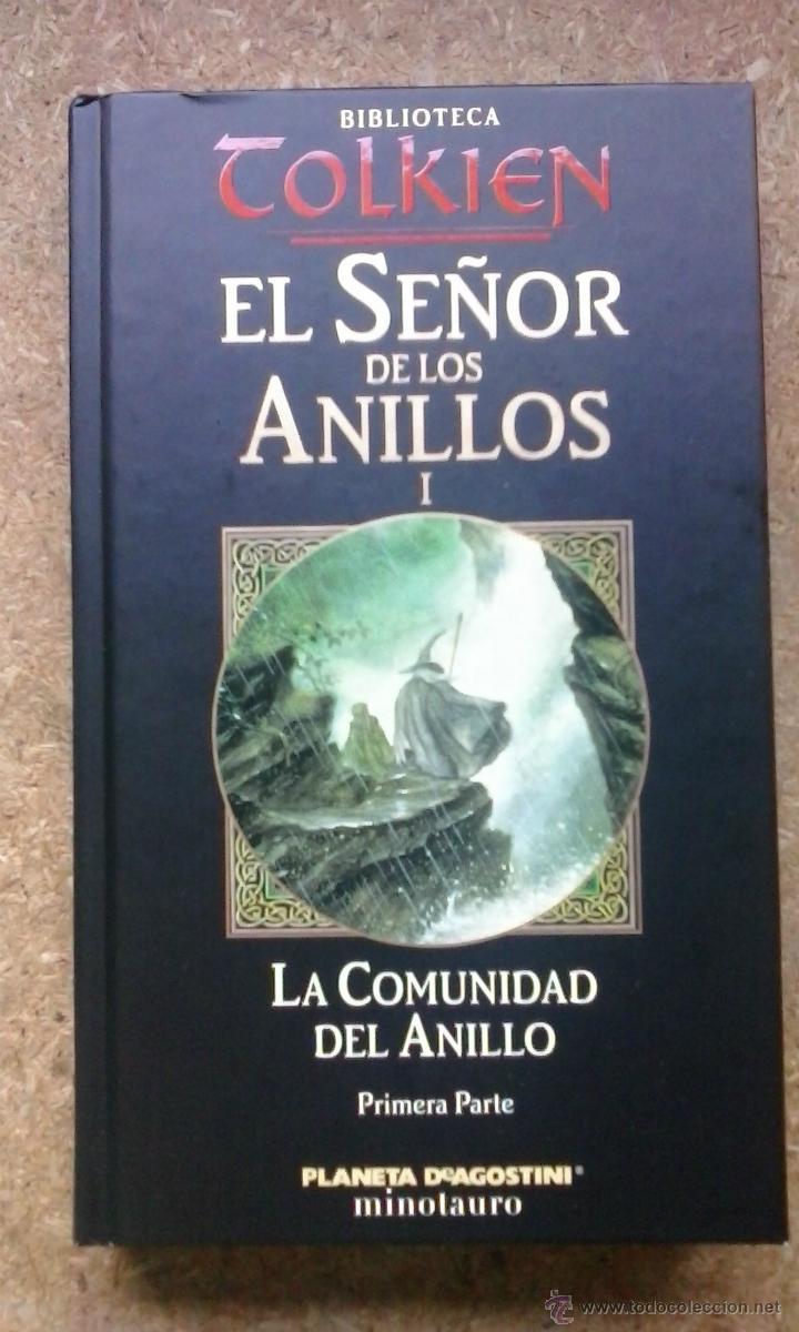 4 fotos EL SEÑOR DE LOS ANILLOS. I: LA COMUNIDAD DEL ANILLO / J.R.R. TOLKIEN .
