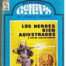 Libros de segunda mano: SELECCIONES GÉMINIS DE CIENCIA FICCION. Nº 3. EDC. GÉMINIS 1967. (RF.MA). Lote 45136706