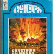 Libros de segunda mano: SELECCIONES GÉMINIS DE CIENCIA FICCION. Nº 2. EDC. GÉMINIS 1967. (RF.MA). Lote 45136732