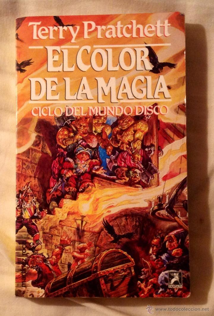 el color de la magia. ciclo del mundo disco. te - Comprar Libros de ...