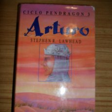 Libros de segunda mano: ARTURO - CICLO PENDRAGÓN 3 (STEPHEN R. LAWHEAD) FANTASÍA TIMUN MAS. Lote 45580304