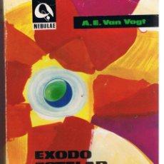Libros de segunda mano: NEBULAE, Nº 127. EXODO ESTELAR. A.E. VAN VOGT. . EDHASA. 1967. (RF.MA). Lote 98630443