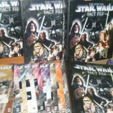 Libros de segunda mano: THE OFFICIAL STAR WARS FACT FILE, LOTE DE 64 FASCICULOS LA GUERRA LAS GALAXIAS. Lote 49724431