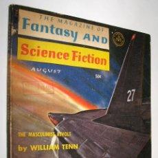 Libros de segunda mano: THE MAGAZINE OF FANTASY AND SCIENCE FICTION - AUGUST 1965 - EN INGLES *. Lote 45921348