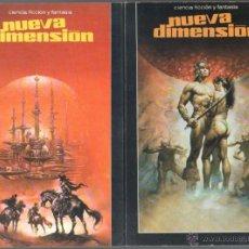Libros de segunda mano: NUEVA DIMENSION CIENCIA FICCION Y FANTASIA - EDI. DRONTE - 33 LIBROS EN MUY BUEN ESTADO, VER IMAGENE. Lote 46730887