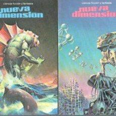 Libros de segunda mano: NUEVA DIMENSION CIENCIA FICCION Y FANTASIA - EDI. DRONTE - 37 LIBROS EN MUY BUEN ESTADO, VER IMAGENE. Lote 46731550