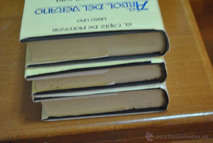 Libros de segunda mano: C62 TIMUN MAS GUY GAVRIEL KAY EL TAPIZ DE FIONAVAR ARBOL VERANO, FUEGO ERRANTE, SENDERO TINIEBLAS - Foto 3 - 108750638