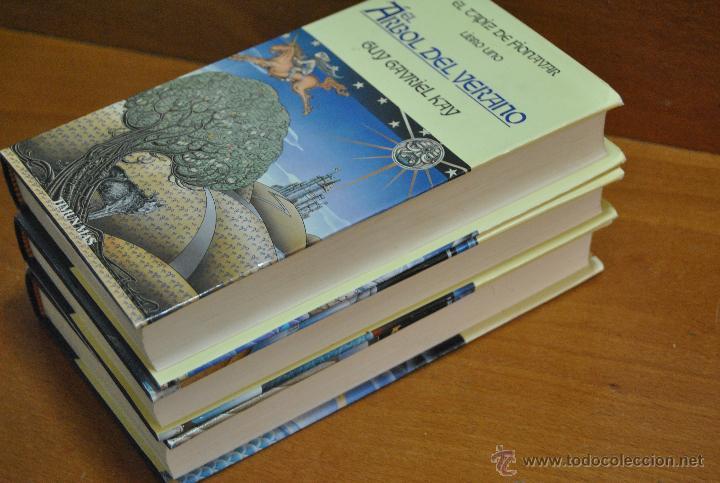 Libros de segunda mano: C62 TIMUN MAS GUY GAVRIEL KAY EL TAPIZ DE FIONAVAR ARBOL VERANO, FUEGO ERRANTE, SENDERO TINIEBLAS - Foto 5 - 108750638