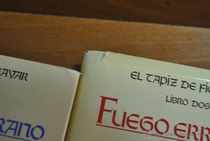 Libros de segunda mano: C62 TIMUN MAS GUY GAVRIEL KAY EL TAPIZ DE FIONAVAR ARBOL VERANO, FUEGO ERRANTE, SENDERO TINIEBLAS - Foto 6 - 108750638
