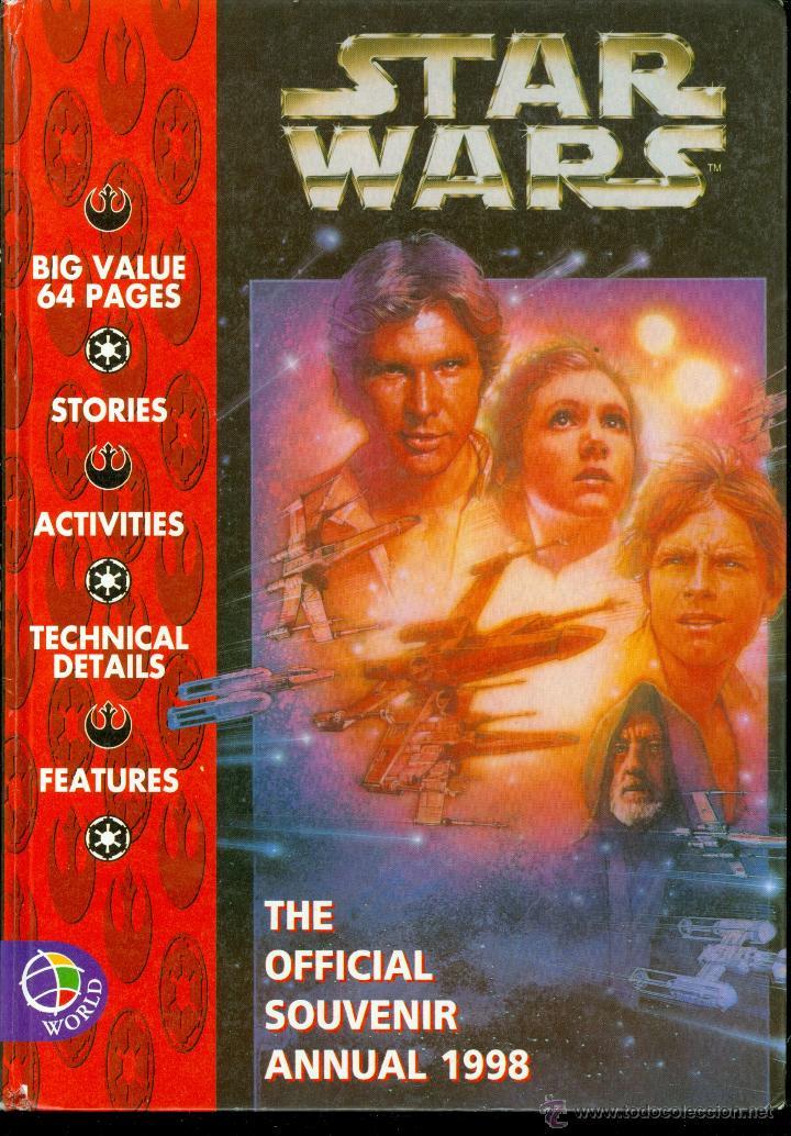 STAR WARS, THE OFFICIAL SOUVENIR ANNUAL 1998 (TAPA DURA, ULTRA RARA PUBLICACIÓN) (Libros de Segunda Mano (posteriores a 1936) - Literatura - Narrativa - Ciencia Ficción y Fantasía)