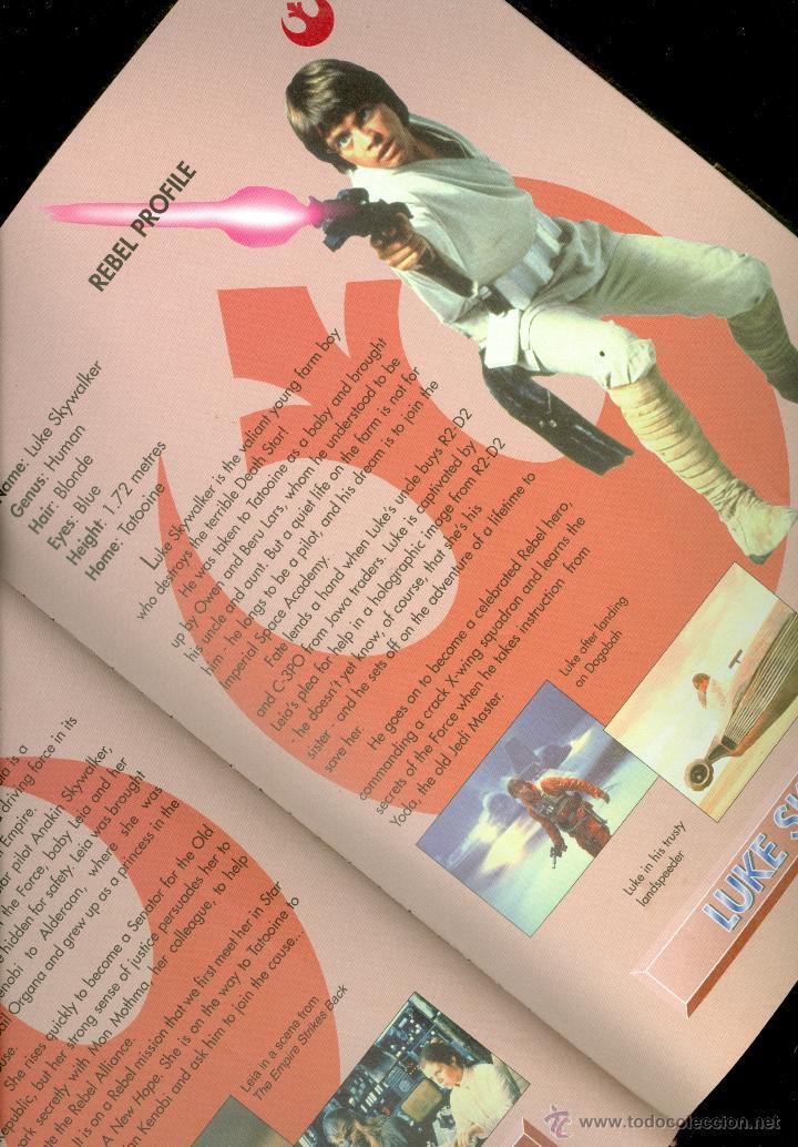 Libros de segunda mano: STAR WARS, THE OFFICIAL SOUVENIR ANNUAL 1998 (TAPA DURA, ULTRA RARA PUBLICACIÓN) - Foto 2 - 47244209