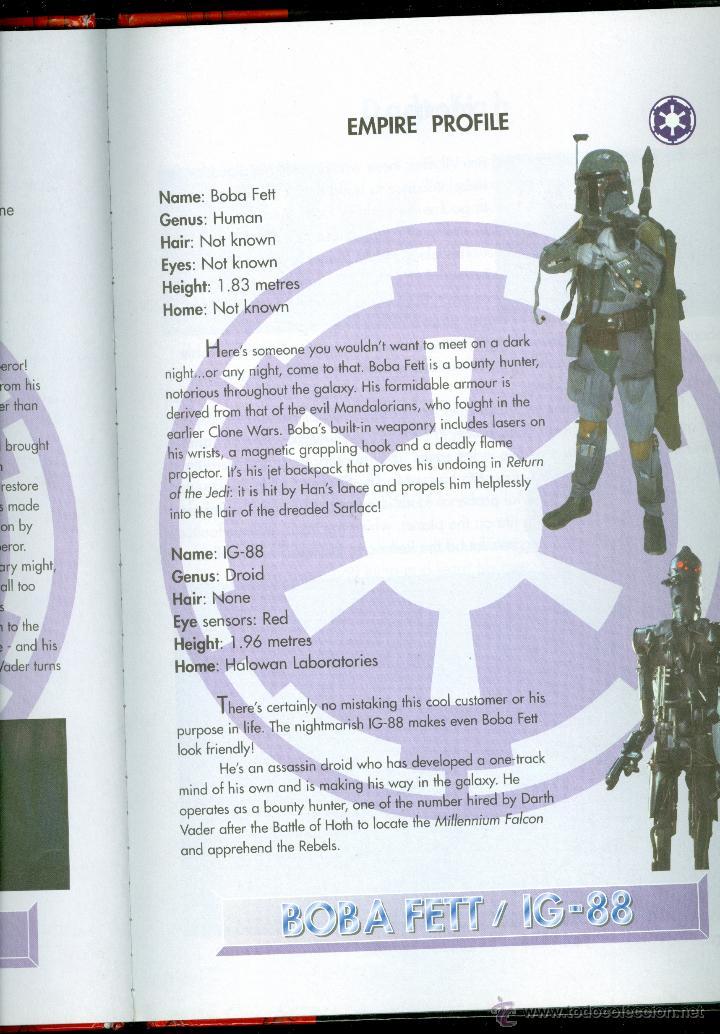 Libros de segunda mano: STAR WARS, THE OFFICIAL SOUVENIR ANNUAL 1998 (TAPA DURA, ULTRA RARA PUBLICACIÓN) - Foto 3 - 47244209