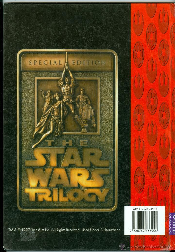 Libros de segunda mano: STAR WARS, THE OFFICIAL SOUVENIR ANNUAL 1998 (TAPA DURA, ULTRA RARA PUBLICACIÓN) - Foto 4 - 47244209