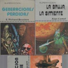 Libros de segunda mano: SUPERFICCIÓN - SUPER FICCION - EXTRA FICCION -COMPLETA 1 AL 27, 1975 - ALAN COMET,H.G.WELLS. Lote 47273070