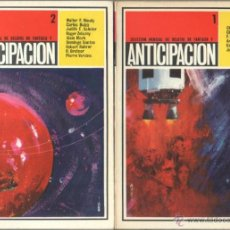 Libros de segunda mano: SELECCION MENSUAL DE RELATOS DE FANTASIA Y CIENCIA FICCION 1 AL 7 COMPLETA, DOMINGO SANTOS, CARLOS B. Lote 47273246