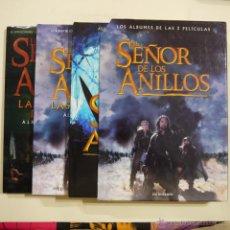 Libros de segunda mano: EL SEÑOR DE LOS ANILLOS. LOS ÁLBUMES DE LAS TRES PELÍCULAS - JUDE FISHER - MINOTAURO . Lote 47334628