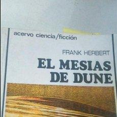 Livres d'occasion: EL MESIAS DE DUNE, HERBERT, FRANK, FICCION BS 4. Lote 48284486