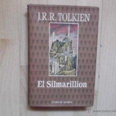 Libros de segunda mano: J.R.R. TOLKIEN - EL SILMARILLION - CONTIENE MAPA. Lote 48316517
