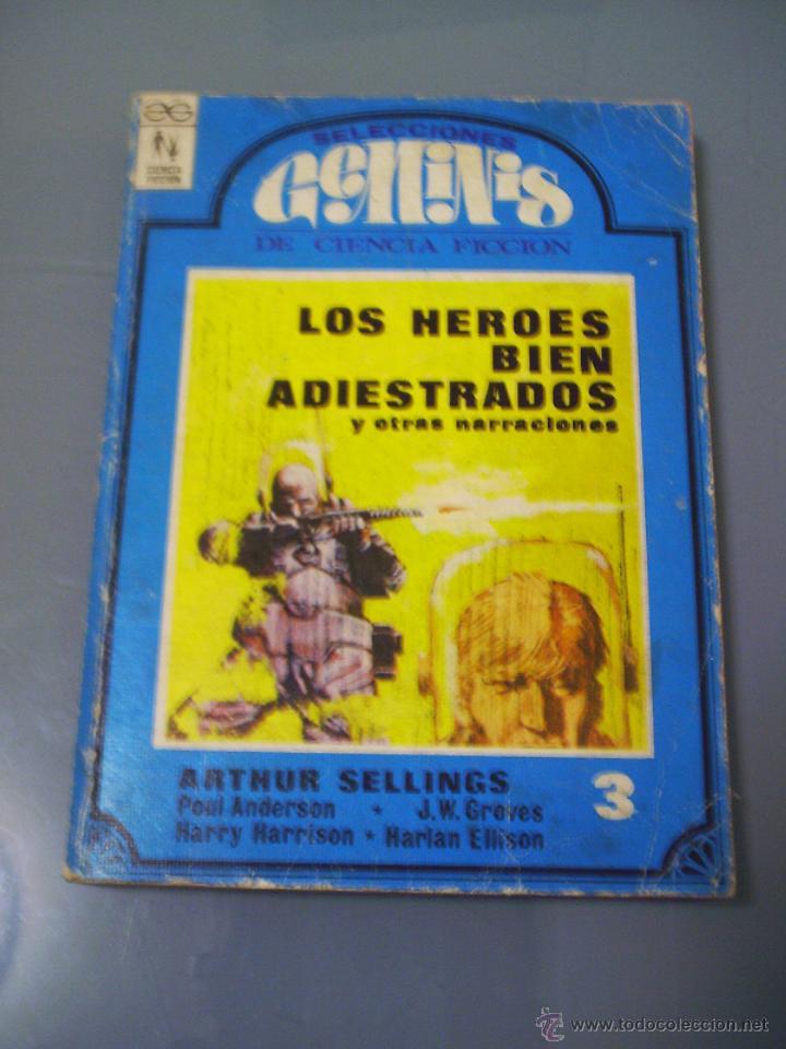 SELECCIONES GEMINIS DE CIENCIA FICCIÓN 3 (Libros de Segunda Mano (posteriores a 1936) - Literatura - Narrativa - Ciencia Ficción y Fantasía)